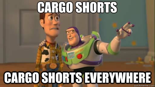 Cargo Shorts: Dad's Vacation Tool Belt