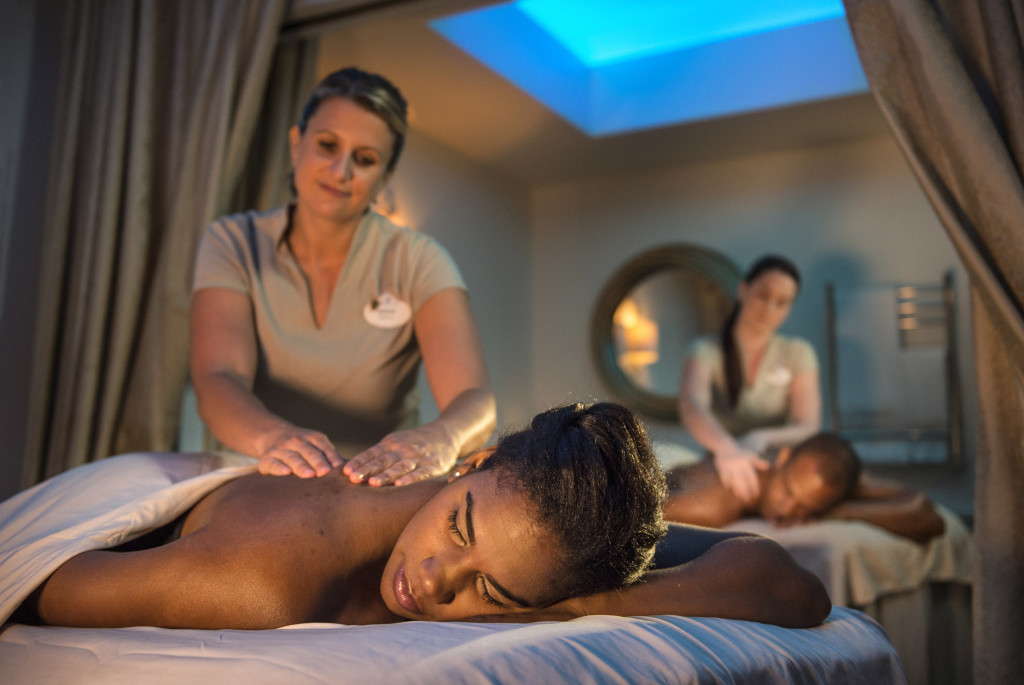 Disney World Spas couples massage ©Disney