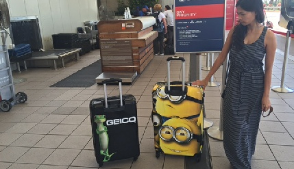 Orion's Billboard Luggage Will Pay Your Airline Baggage Fees