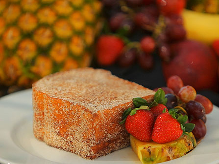 Disney World Recipe: Kona Cafe's Tonga Toast