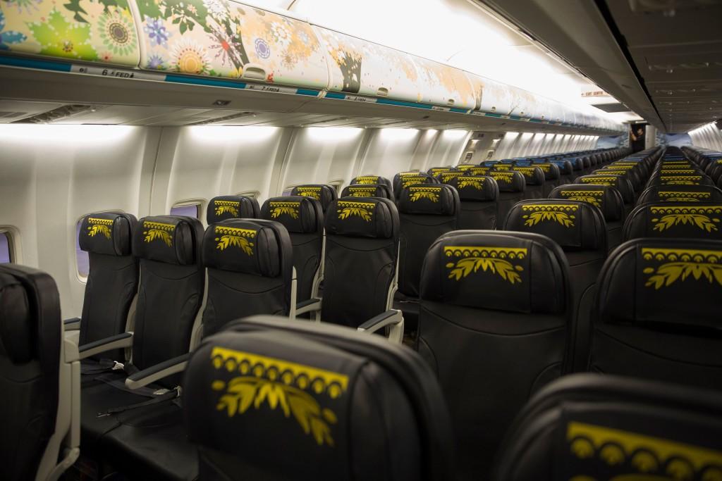 WestJet Frozen aircraft ©WestJet