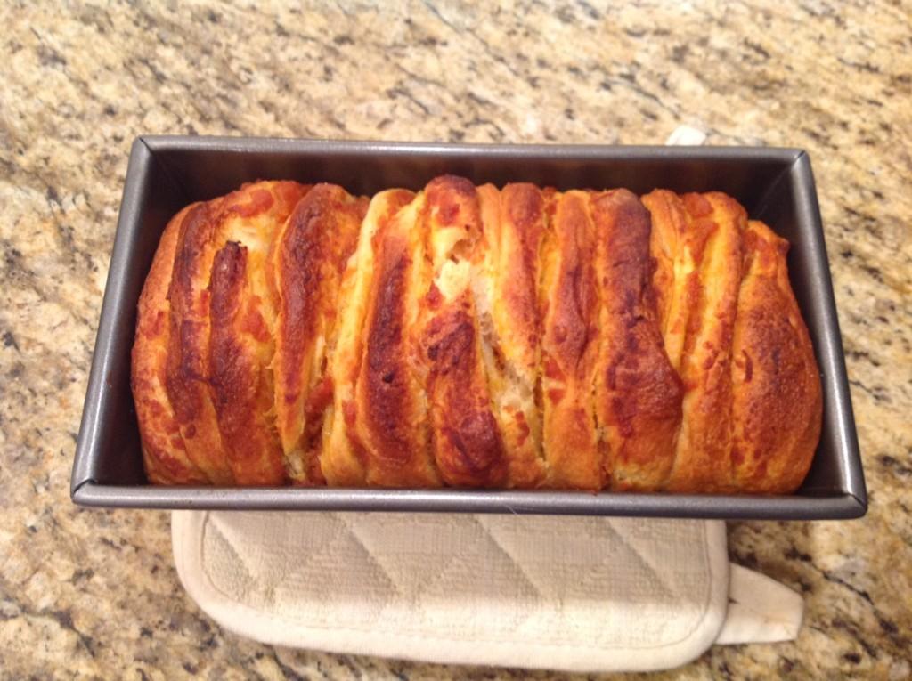 Pumpkin Pull-Apart Bread ©WagonPilot