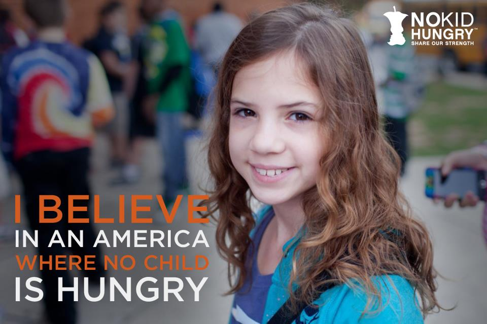 Make a Pledge to Eliminate Child Hunger in America