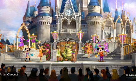 New Castle Stage Show Coming to Magic Kingdom