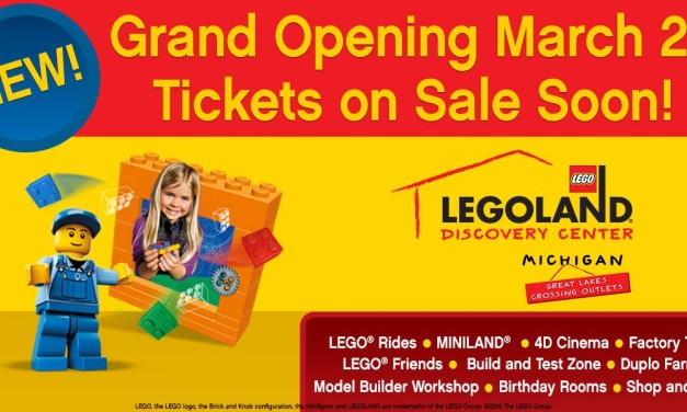 Legoland Discovery Center Michigan Grand Opening Date Announced