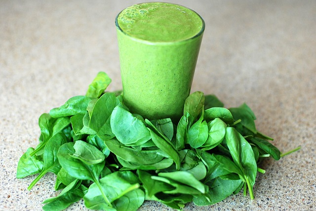Spinach is a perfect add in for smoothies
