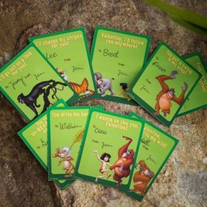 Jungle Book Valentines Day Cards ©Disney