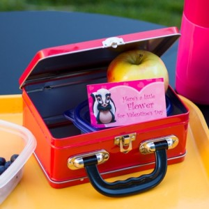 Disney Valentines Lunchbox Notes ©Disney
