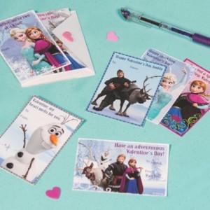 Frozen Valentines Day Cards ©Disney