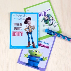 Toy Story Valentines Day Cards ©Disney