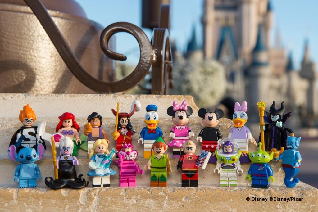 Disney Pixar LEGO Minifigures ©Disney/LEGO Click for hi res image