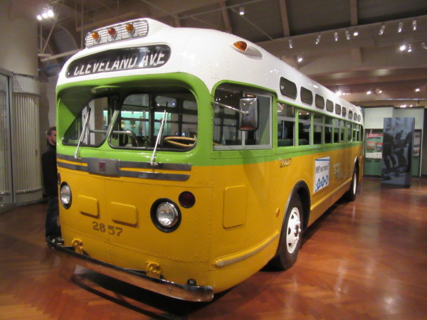 Rosa Parks Bus ©WagonPilot