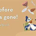 Disney World Fall 2016 Free Dining Offer