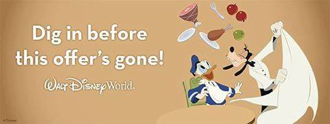 Disney World Fall 2016 Free Dining Offer
