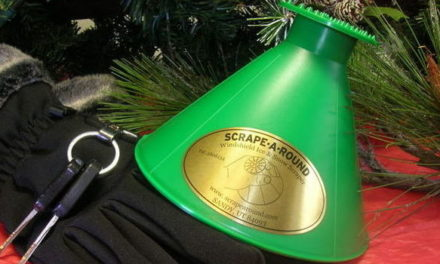 Clear Frosty Windows with the Innovative Scrape-A-Round