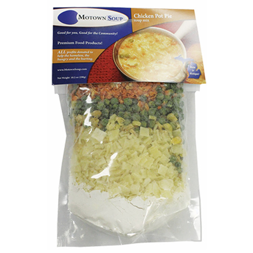 Motown Soup Chicken Pot Pie Soup Mix ©Motown Soup