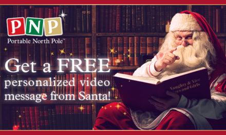 Make Christmas Magic with Portable North Pole!