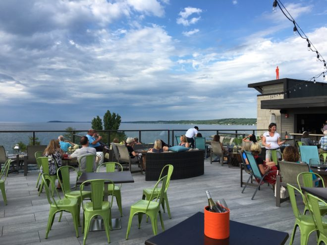 Hotel Indigo Traverse City Rooftop Bar