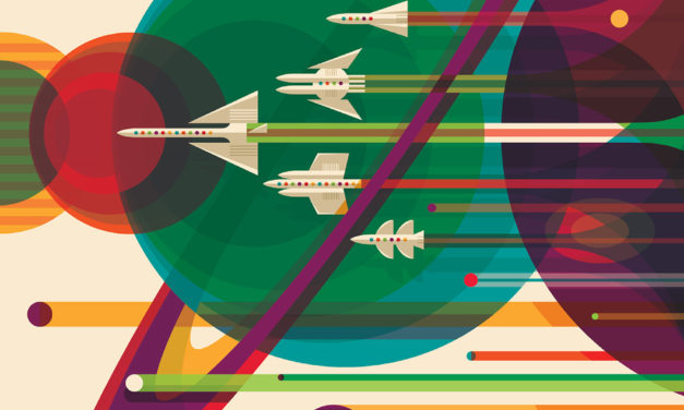 Download NASA's Amazing Sci-Fi Travel Posters