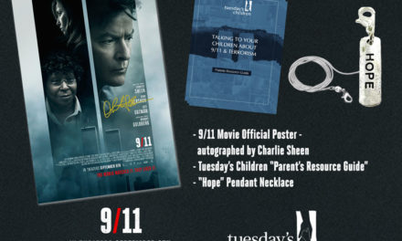9/11 Film Charlie Sheen Signed Poster and Gift Pack Giveaway