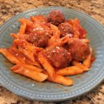 Easiest Instant Pot Pasta and Meatballs