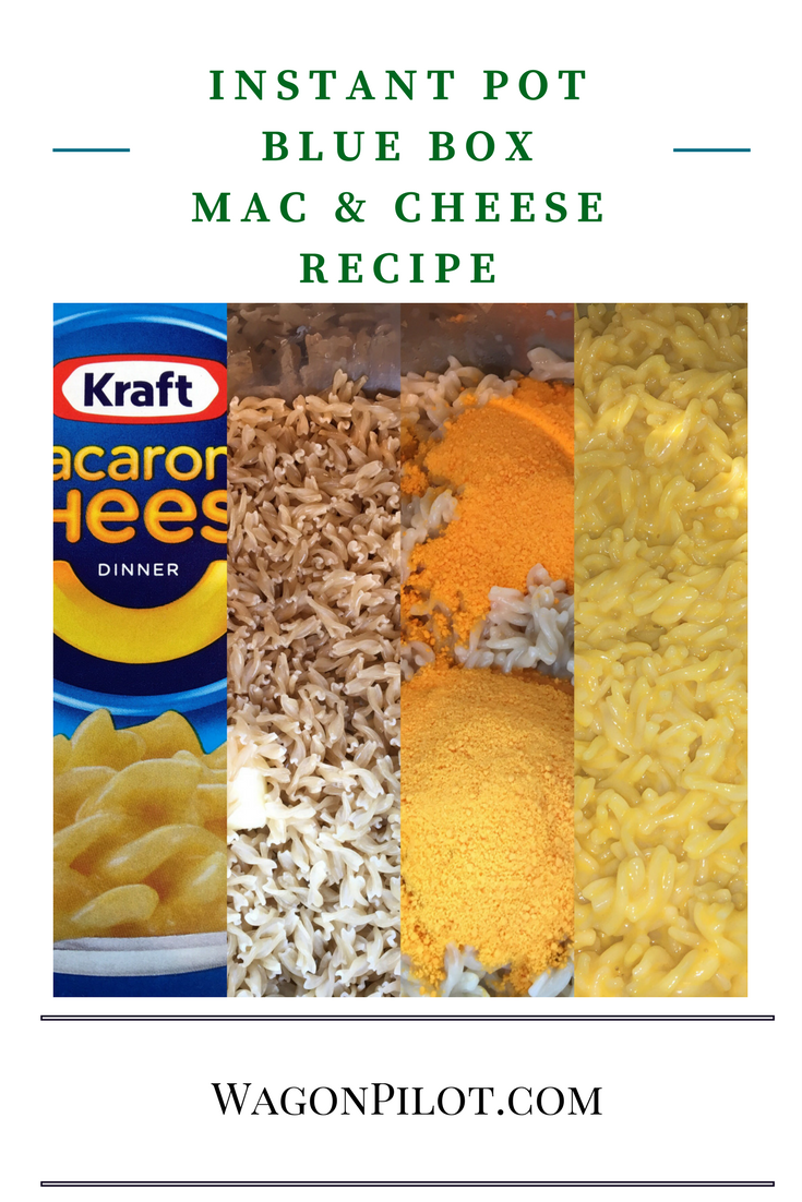 Instant Pot blue box mac and cheese ©R. Christensen