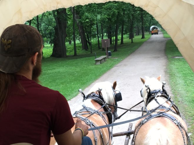 Blennerhassett Island wagon ride