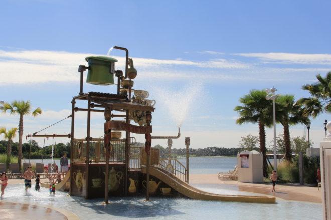 Splash Area at Disney World's Grand Floridian Resort