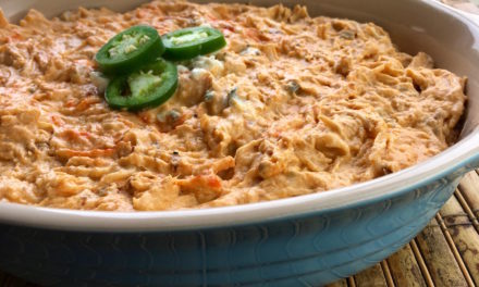 Slow Cooker Spicy Buffalo Chicken Dip