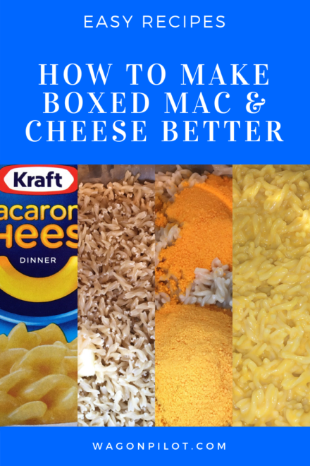 How To Make Boxed Mac and Cheese Better