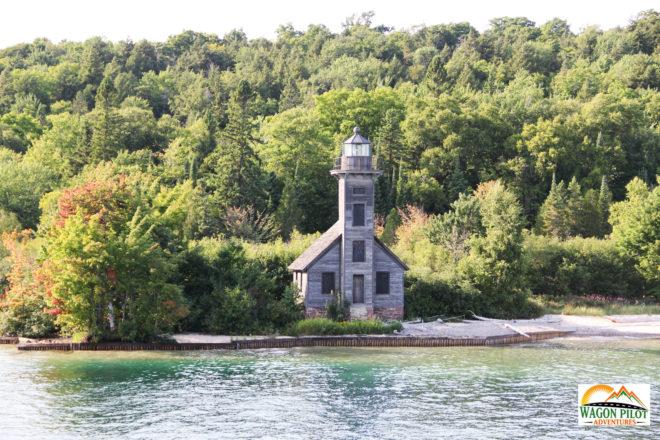 Pictured Rocks Cruise - Grand Isle Lighthouse © R. Christensen