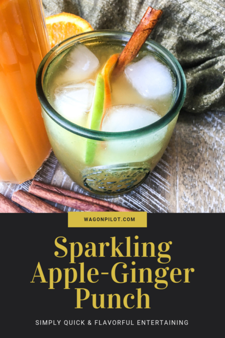 Sparkling Apple-Ginger Punch