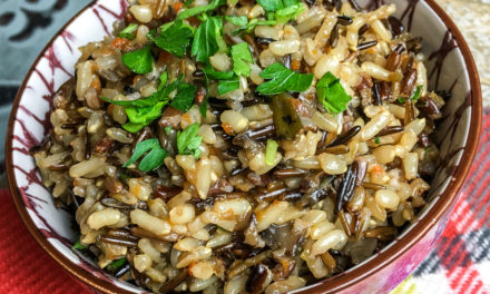Instant Pot Pressure Cooker Wild Rice Pilaf