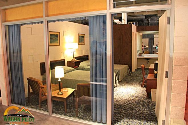 1950s motel room © Wagon Pilot Adventures
