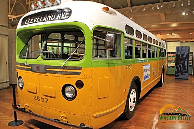 Rosa Parks Bus © Wagon Pilot Adventures