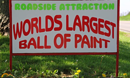 Travel Shorts: World's Largest Ball of Paint