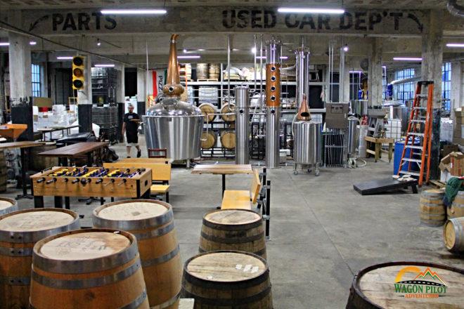 Oakley Brothers Distillery © Wagon Pilot Adventures