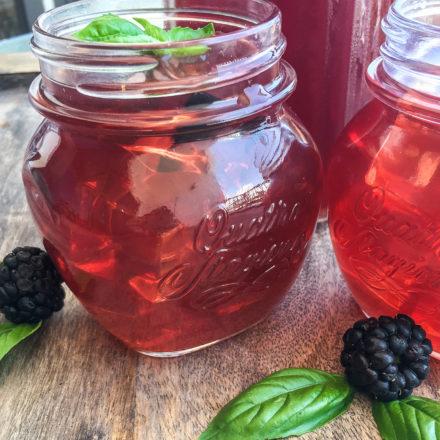 Instant Pot Blackberry Iced Tea