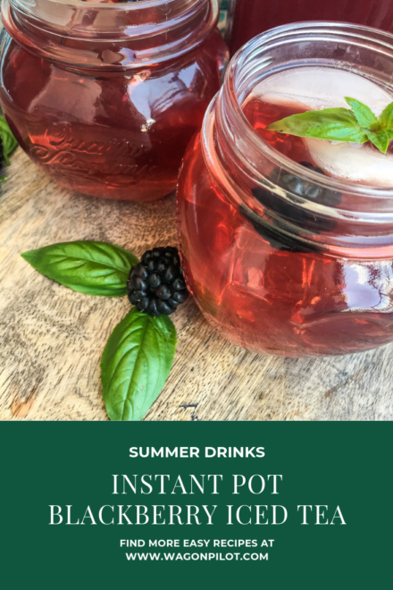 Instant Pot Blackberry Iced Tea Recipe