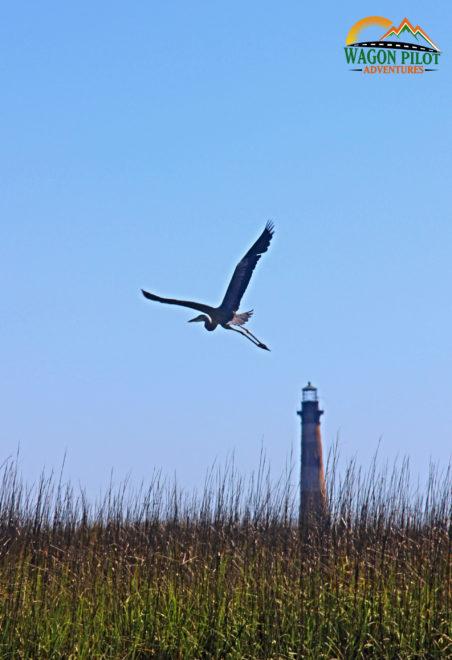 Morris Island lighthouse near Charleston, South Carolina © Wagon Pilot Adventures