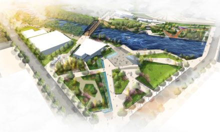 Fort Wayne, Indiana Extends its Urban Oasis with Promenade Park