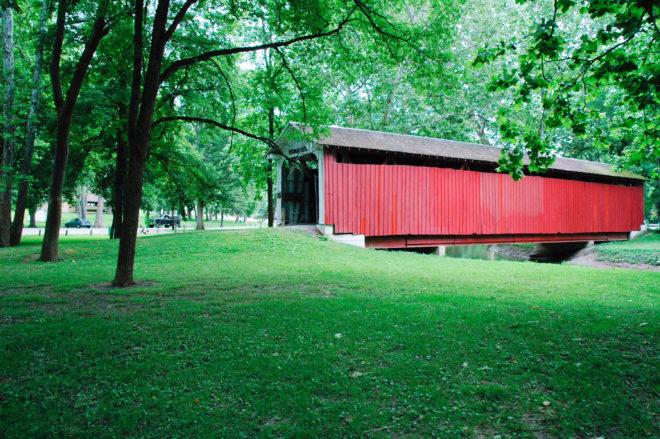 Vermont Covered Bridge - Image courtesy Kokomo, Indiana CVB