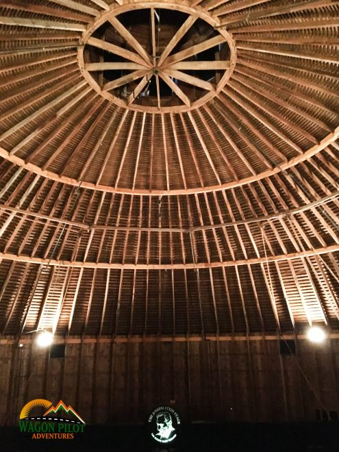 Interior of the Round Barn Theater at Amish Acres © Wagon Pilot Adventures