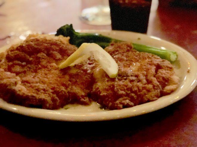 Perkinsville Pork Tenderloin - Bonge's Tavern © Indiana Foodways Alliance