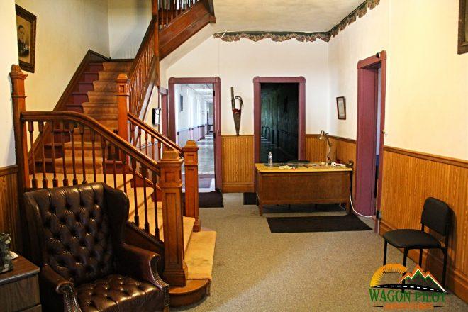 Front Entrance - Randolph Asylum Winchester, Indiana © Wagon Pilot Adventures