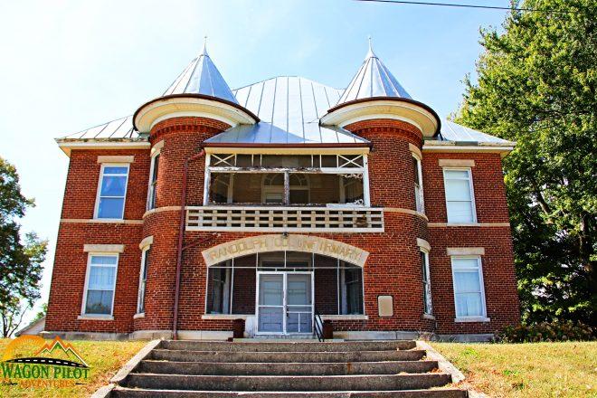 Randolph Asylum Winchester, Indiana © Wagon Pilot Adventures