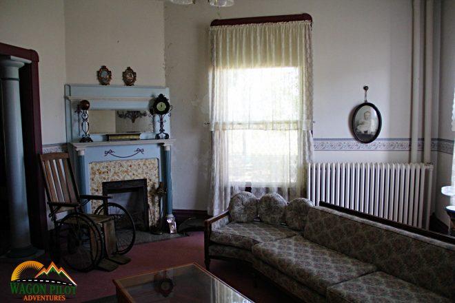 Parlor - Randolph Asylum Winchester, Indiana © Wagon Pilot Adventures