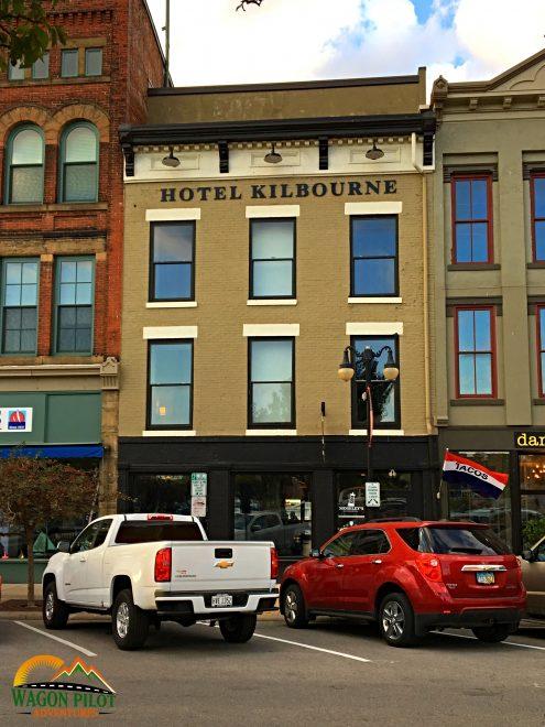 Hotel Kilbourne Sandusky, Ohio © Wagon Pilot Adventures