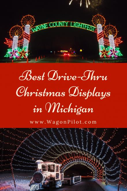 Best Drive-Thru Christmas Light Displays in Michigan