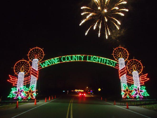 Wayne County Lightfest - Facebook